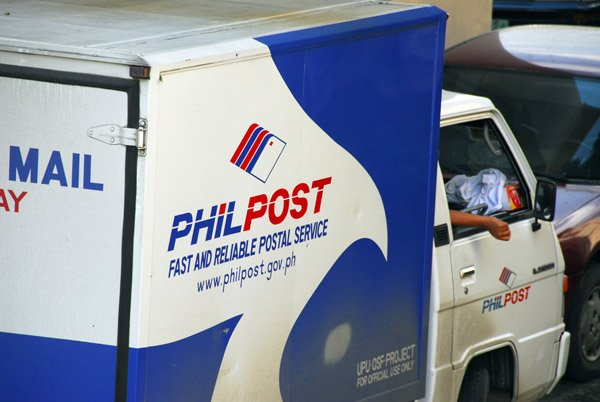 PHLPost delivery truck