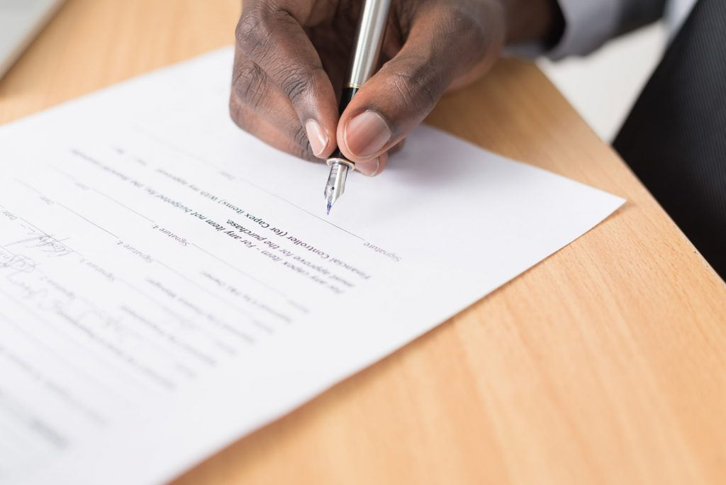 Supply contract agreement